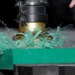 Vlakken van Polyethyleen (UHMWPE-1000 groen)